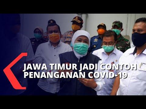lepas dari zona merah jawa timur jadi contoh penanganan corona di indonesia