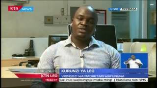 KTN Leo: Kurunzi ya Leo -  Daktari Abidan Mwachi 13/2/2017