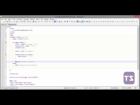 How To Read And Write To A Text File PHP - Lecture 54 (PHP Tutorial) Mp3
