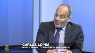 Counting the Cost – Feature: Dr Carlos Lopes: Ebola's economic impact – Al Jazeera English