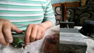 Как самому сделать вольфрамовою мормышку