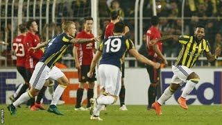Man United Vs Fenerbahce 12 Extended Highlights Europa League 2016