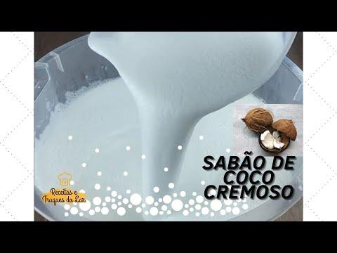 RECEITA DE SABO DE COCO LIQUDO CREMOSO E PERFUMADO!!