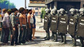 RIOT POLICE! ОМОН! SWAT! (GTA 5 Mods)