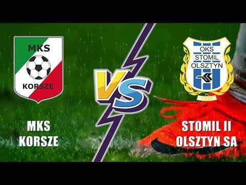 Skrót meczu MKS Korsze - Stomil II Olsztyn 4:3