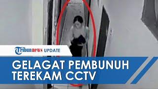 Gelagat Aisyah yang Bunuh Selebgram Makassar Terekam CCTV, Mondar Mandir Simpan Pisau di Punggung