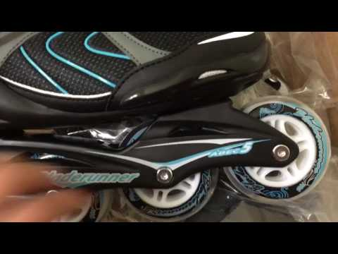 My new roller blades!!! Unboxing Bladerunner Pro 80 Womens and Men's