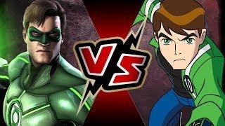 Ben 10 VS Green Lantern | BATTLE ARENA