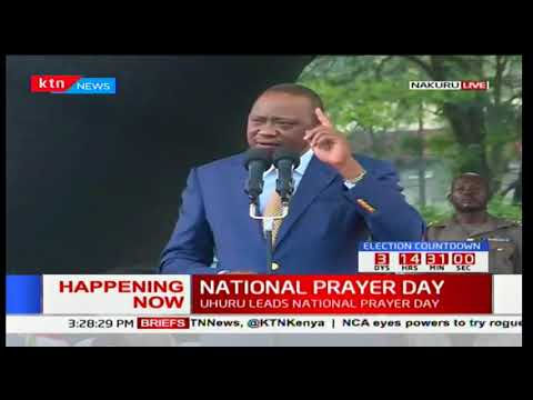 President Uhuru full speech during the National prayer day in Nakuru