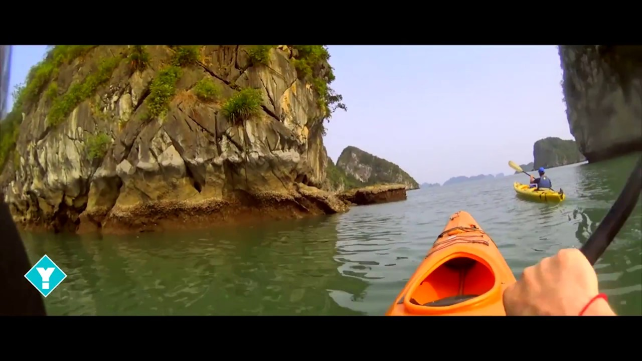 ADV Vietnam: Halong Bucht Kanu