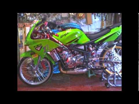 Video Modifikasi Motor ninja rr