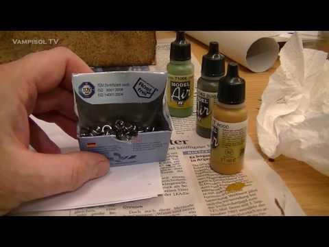 Wichtiger Tipp für die Arbeit mit Vallejo Farben