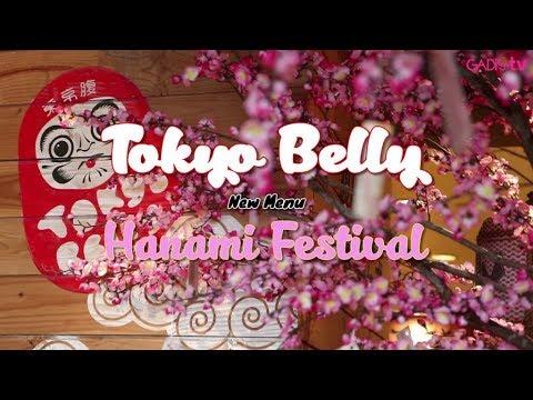 Restaurant Review: Tokyo Belly New Menu: Hanami Festival