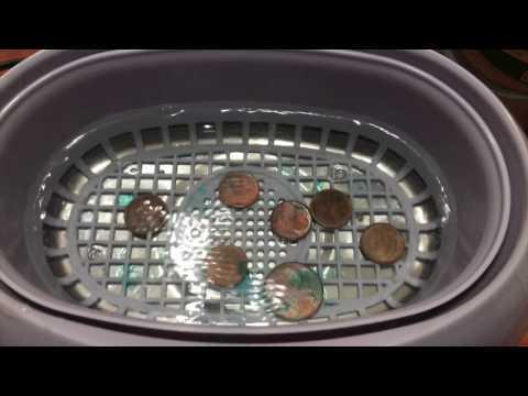 Limpiador ultrasonico para metales, joyas, relojes...