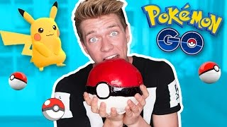 Pokemon Go Edible DIY GIANT Pokeball | Collins Key