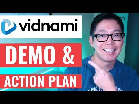 Vidnami Demo & Walkthrough | Free Action Plan | Formerly Content Samurai