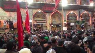 preview picture of video 'Karbala Arbaeen 2013 Latmiyat - Shrine of Imam Hussein (a.s.)'