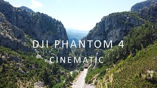 Cinematic Video With Dji Phantom 4 (Antalya - Isparta Road in Turkey)