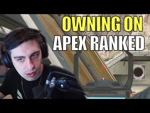 SHROUD ▪ DOING WORK In Ranked + Thoughts On Charge Rifle【APEX LEGENDS Season 3】