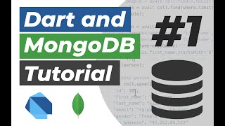Dart and MongoDB Tutorial #1: Using the mongo_dart package