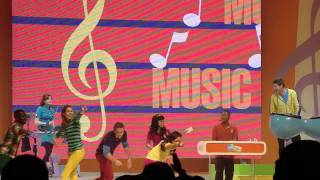 """FRESH BEAT BAND LIVE CONCERT 2/2/2012 @ THE GROVE """"MUSIC MUSIC"""""""