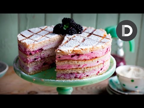 Sizzling Blackberry Marshmallow Cake feat. Sharon Hearne Smith!