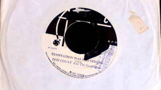 Don Covay & The Goodtimers - Temptation Was Too Strong SOUL