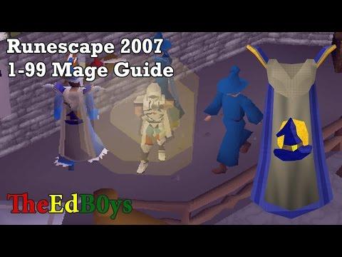Video Runescape 2007 1-99 Magic Guide | OSRS 99 Mage Guide