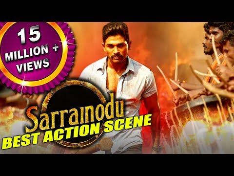 Sarrainodu New Best Action Scene | South Indian Hindi Dubbed Best Action Scenes