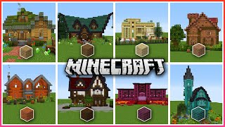A Minecraft House For Every Type Of Wood!