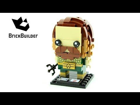 Vidéo LEGO BrickHeadz 41600 : Aquaman