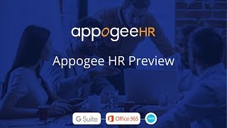 Appogee HR video