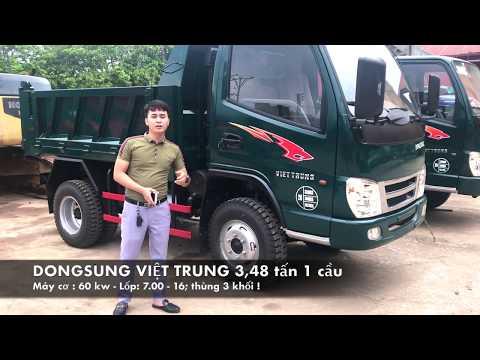 Xe tải ben Dongsung Việt Trung 3,48 tấn