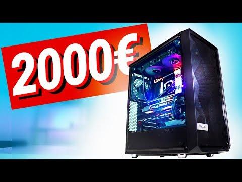 2000€ Euro GAMING PC!! - Test & Zusammenbauen (2019)