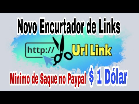 Novo encurtador de link! Melhor site para ganhar dinheiro no paypal encurtando links