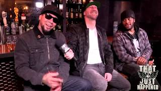 Traa Daniels and Wuv Bernardo of P.O.D. - Live Interview