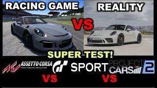 Racing games VS Real life
