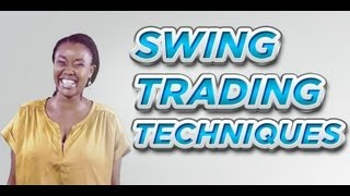 Swing Trading Techniques For Part Time Investors And Beginner Stock Market Investors