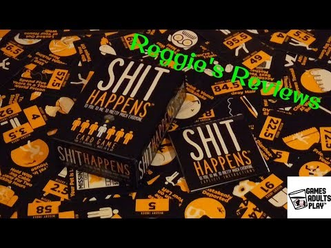 Reggie's Reviews - Shit Happens The Card Game