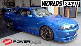 World's Best R34 GTR Skyline | Street Legal with 1000HP at the wheels | POWERTUNE AUSTRALIA