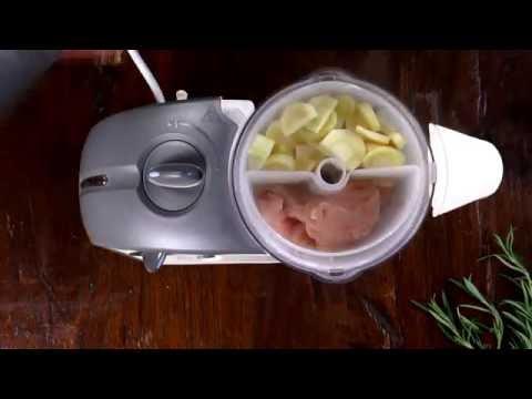 Leckerer Babybrei aus Pastinaken mit Kartoffeln und Schweinefilet (10+ m)