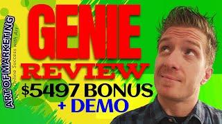 Genie Review, Demo, $5497 Bonus, Genie Software Review