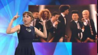Basim - Cliche Love Song - (Sign language edition) - Eurovision 2014 - Denmark
