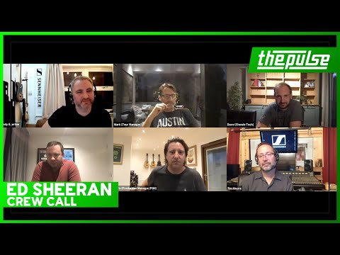 Ed Sheeran Crew Call - A live discussion with the Ed Sheeran Live Touring Crew