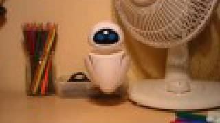 EVE from Wall.E: Stop-motion Animation Test