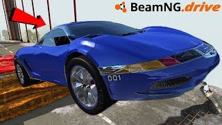 BeamNG Drive with the fastest car ever