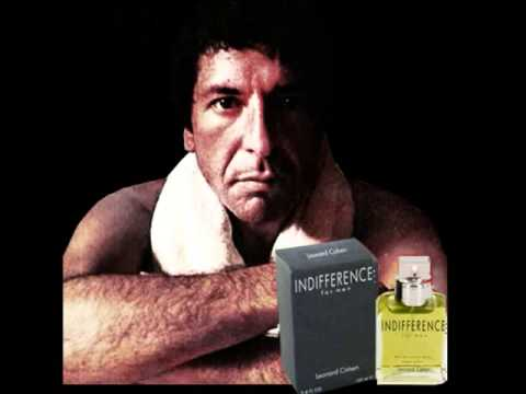 Leonard Cohen's Nevermind Ad For Indifference Cologne