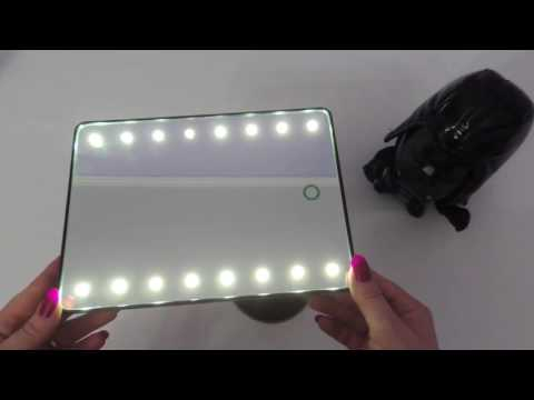 RECENSIONE Specchio Cosmesi con illuminazione a Led HANGSUN