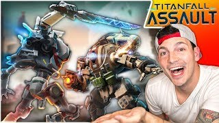 TITANFALL ASSAULT - NEW MOBILE GAME - My First Try!