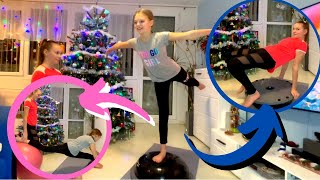 GymDuo | Gymnastika na míči /je to vůbec možné?